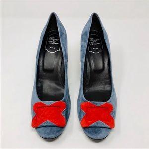 🆕 ROGER VIVIER Limited Edition suede heels